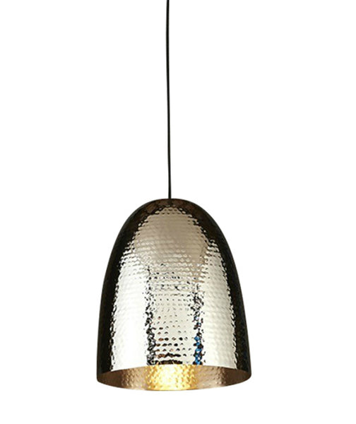 Dolce Pendant | Beaten Silver - Magins Lighting Pendant Usually dispatches within 2-3 days. Please contact us to confirm prior to placing your order. Magins Lighting