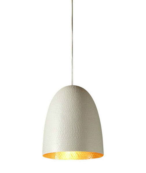 Dolce Pendant | White with Brass Lining - Magins Lighting Pendant Usually dispatches within 2-3 days. Please contact us to confirm prior to placing your order. Magins Lighting