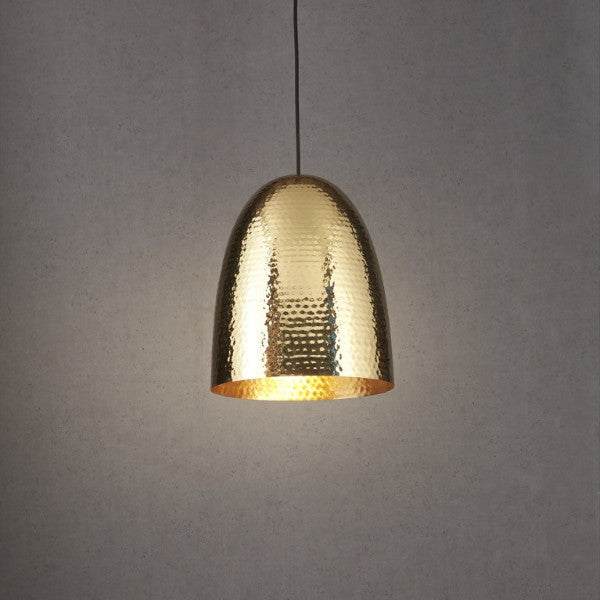 Dolce Pendant | Beaten Brass - Magins Lighting Pendant Emac & Lawton Magins Lighting
