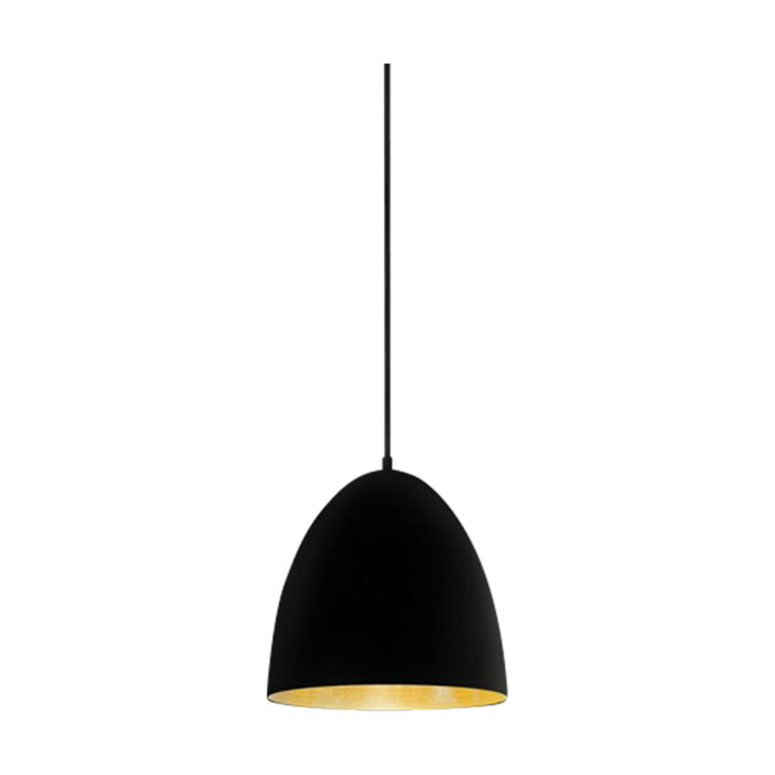 Egg Pendant | Black & Brass - Magins Lighting Pendant Usually dispatches within 2-3 days. Please contact us to confirm prior to placing your order. Magins Lighting