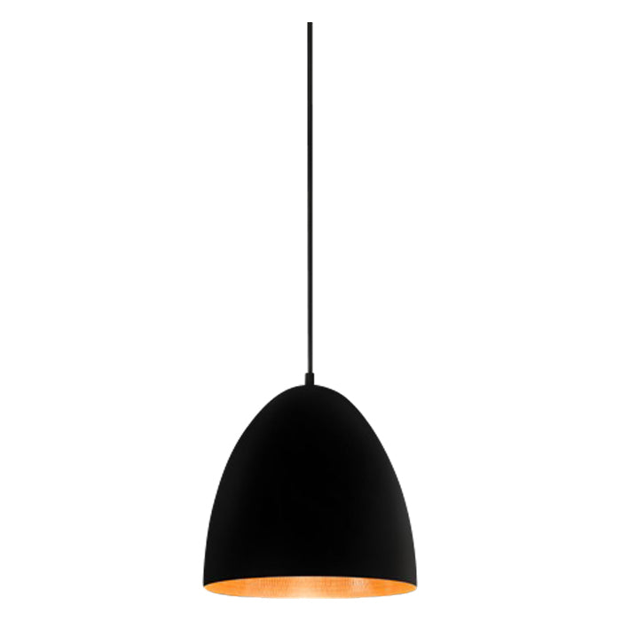 Egg Pendant | Black & Copper - Magins Lighting Pendant Usually dispatches within 2-3 days. Please contact us to confirm prior to placing your order. Magins Lighting