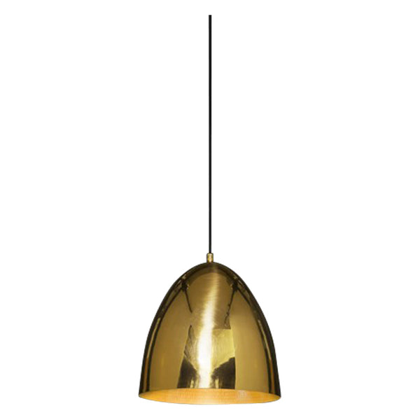 Egg Pendant | Brass - Magins Lighting Pendant Usually dispatches within 2-3 days. Please contact us to confirm prior to placing your order. Magins Lighting