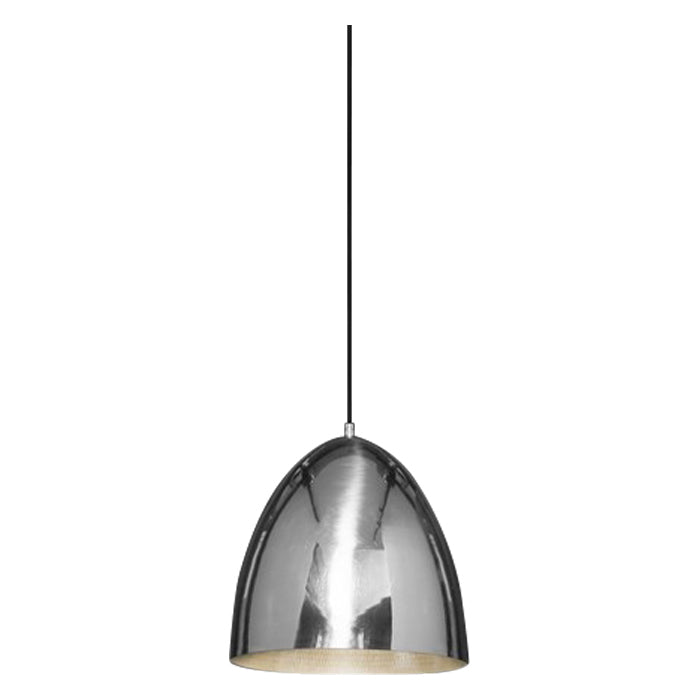 Egg Pendant | Silver - Magins Lighting Pendant Usually dispatches within 2-3 days. Please contact us to confirm prior to placing your order. Magins Lighting