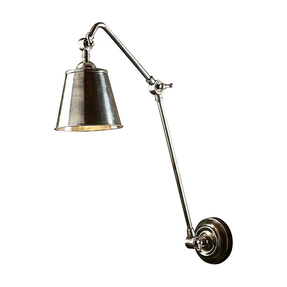 Cromwell | Aged Nickel - Magins Lighting Interior Wall Lamps Magins Lighting Magins Lighting
