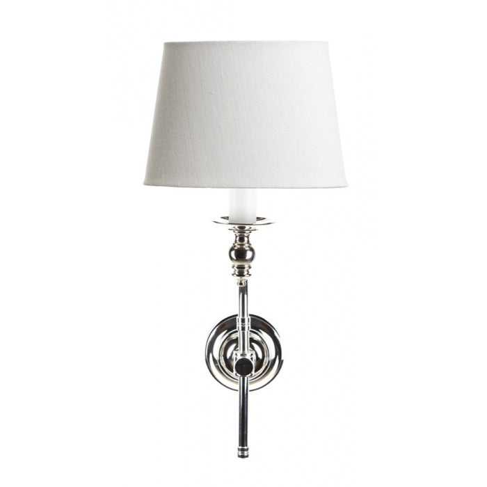 Soho with Shade | Aged Nickel - Magins Lighting Interior Wall Lamps Magins Lighting Magins Lighting