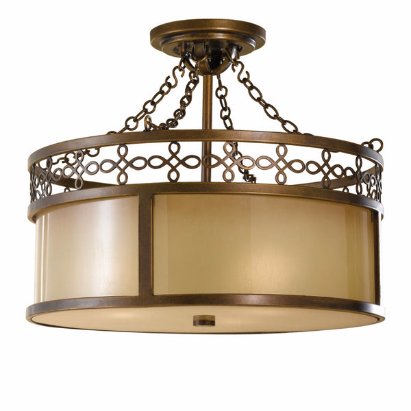 Justine | Semi Flush - Magins Lighting Flush Mount Feiss Magins Lighting