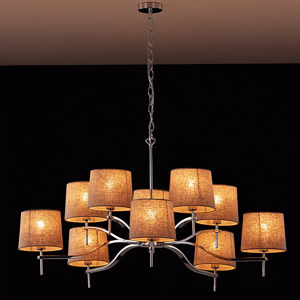 Grace 10 Light Chandelier - Magins Lighting Chandelier Viore Magins Lighting