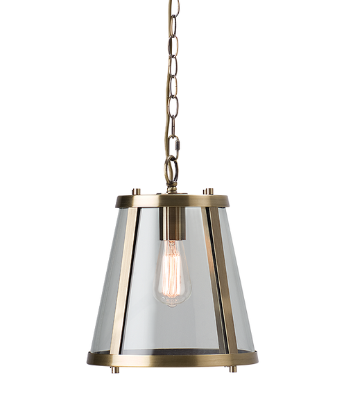 Dijon | Small | Aged Brass - Magins Lighting Ceiling Lantern Magins Lighting Magins Lighting