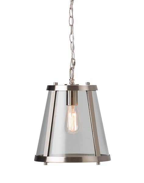 Dijon | Small | Satin Nickel - Magins Lighting Ceiling Lantern Magins Lighting Magins Lighting