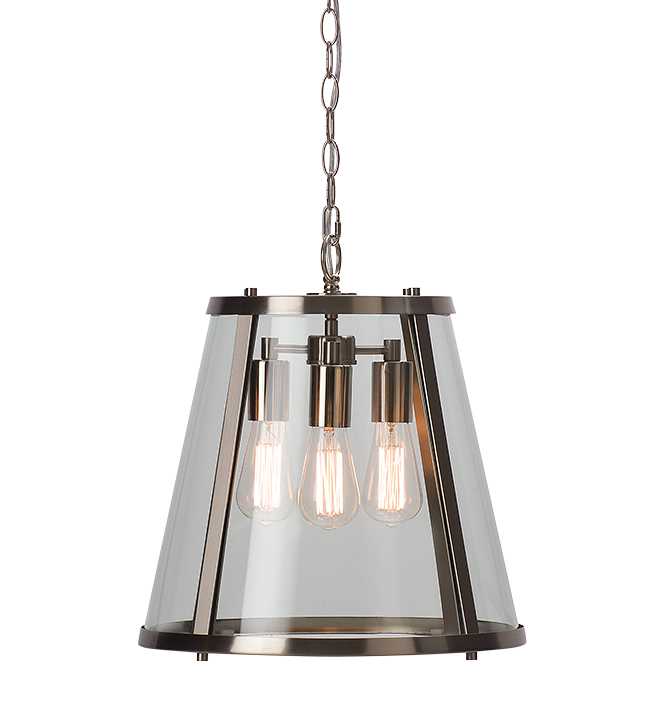 Dijon | Large | Satin Nickel - Magins Lighting Ceiling Lantern Magins Lighting Magins Lighting