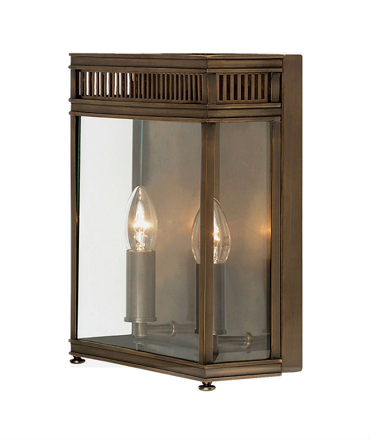 Holborn Wall Lantern | Large | Bronze - Magins Lighting Exterior Wall Lamps Elstead Lighting Magins Lighting