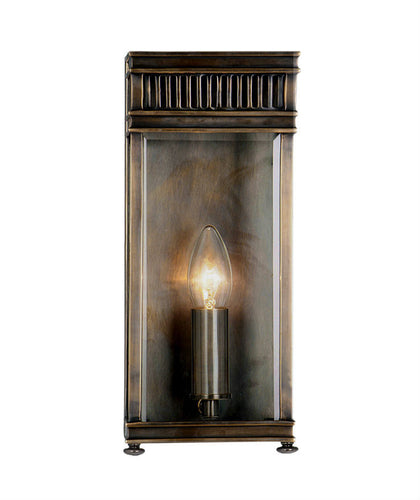 Holborn Wall Lantern | Small | Bronze - Magins Lighting Exterior Wall Lamps Elstead Lighting Magins Lighting