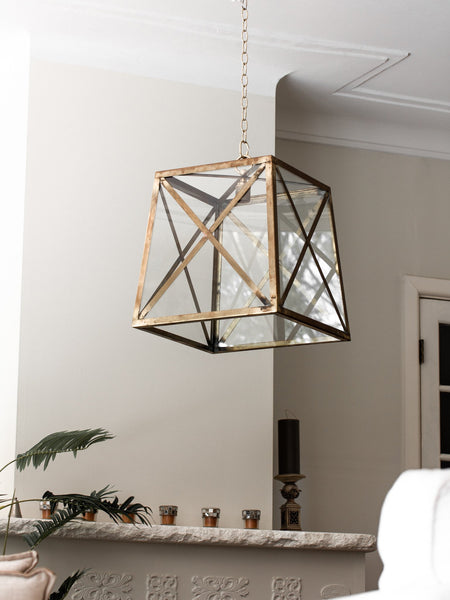Norfolk Ceiling Lantern w/ Cross - Magins Lighting Ceiling Lantern Lead Time: 5 - 6 Weeks Magins Lighting