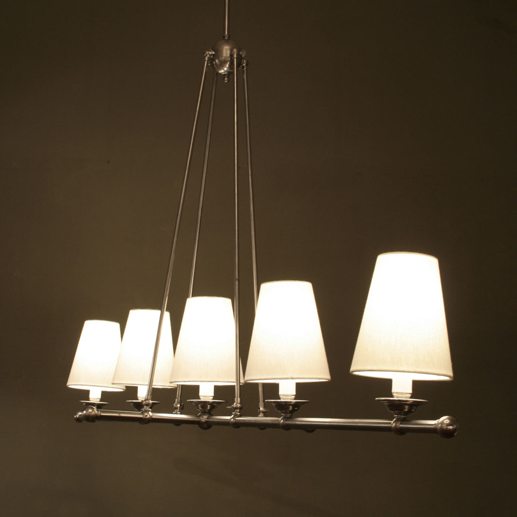 Hanover Ceiling 5 Light Straight Magins Lighting Pendant Design