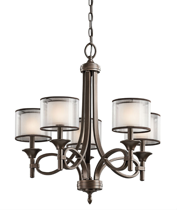 Lacey 5 Light Chandelier - Magins Lighting Chandelier Lead Time: 5 - 6 Weeks Magins Lighting