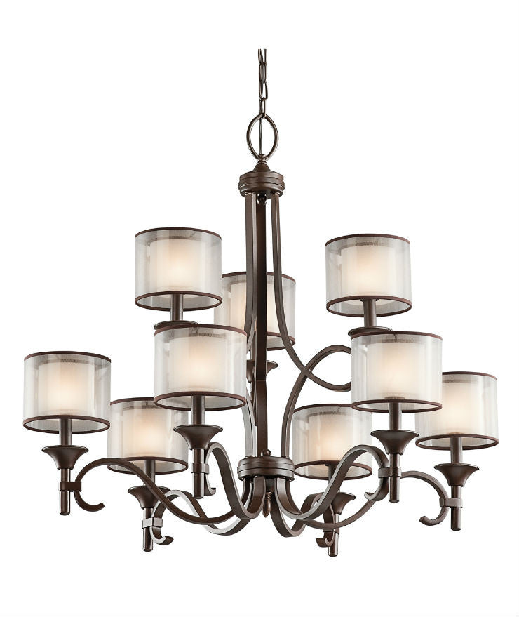 Lacey 9 Light Chandelier - Magins Lighting Chandelier Lead Time: 5 - 6 Weeks Magins Lighting