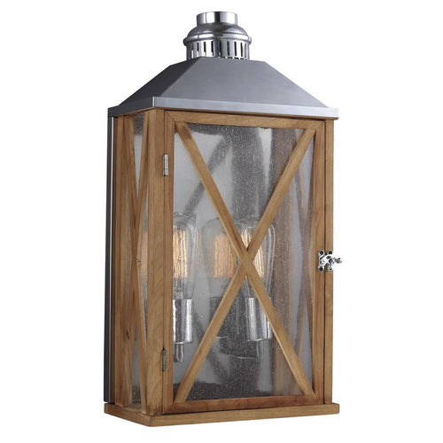 Lumiere Wall Lantern | Medium - Magins Lighting Exterior Wall Lamps Feiss Magins Lighting