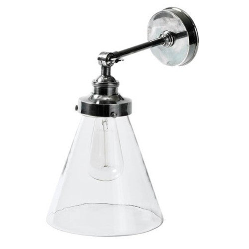 Francis Wall Lamp | Aged Nickel - Magins Lighting Interior Wall Lamps Usually dispatches within 2-3 days. Please contact us to confirm prior to placing your order. Magins Lighting