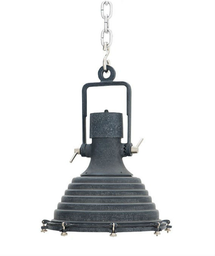Maritime Pendant | Zinc - Magins Lighting Pendant Lead Time: 5 - 6 Weeks Magins Lighting