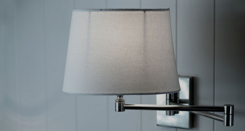 Bancroft Double Swing Arm Wall Lamp