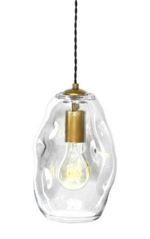 Organic Glass Pendant | Medium - Magins Lighting Glass Pendant Lead Time: 1 - 2 Weeks Magins Lighting