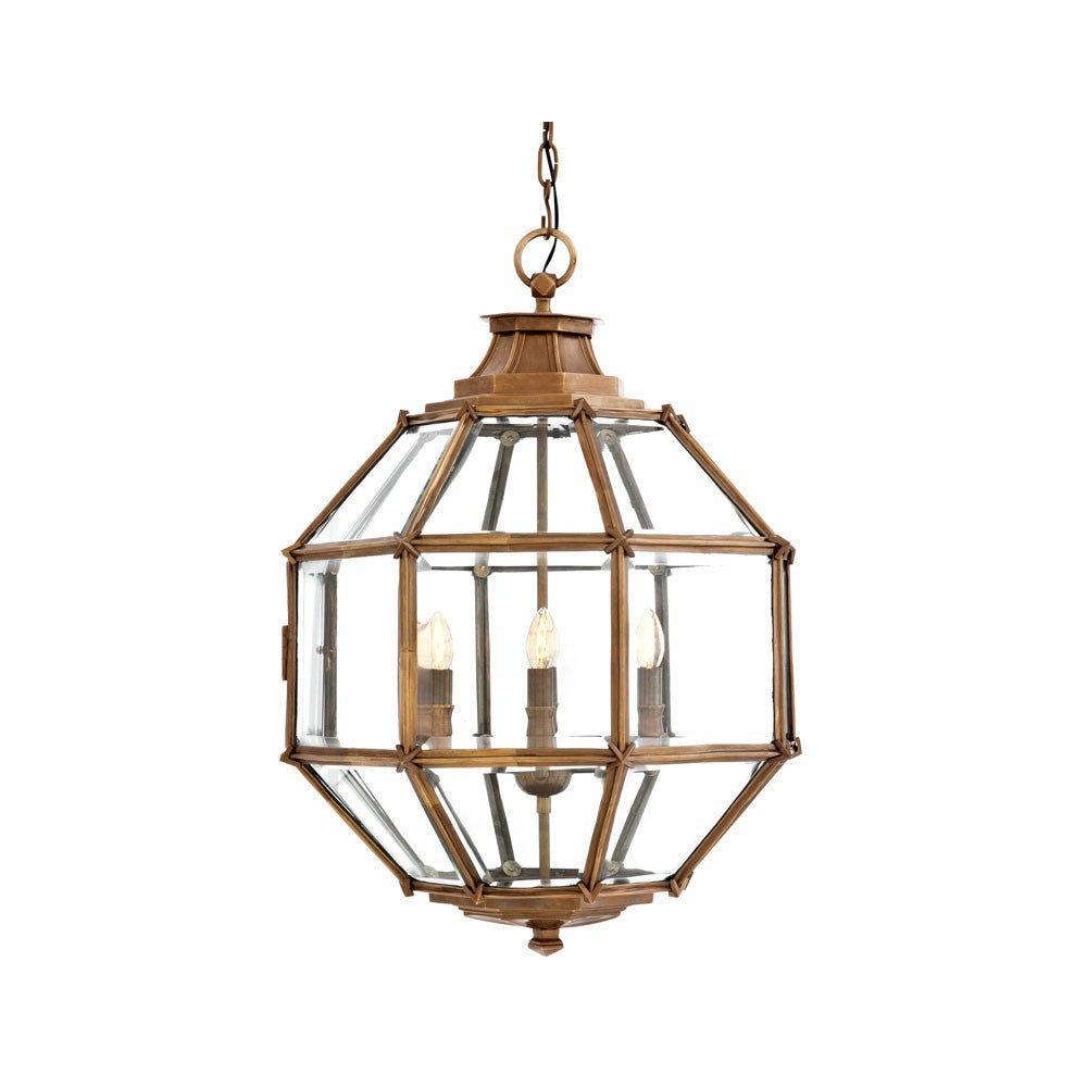 Owen Lantern | Medium | Brass - Magins Lighting Lantern EM Lighting Magins Lighting