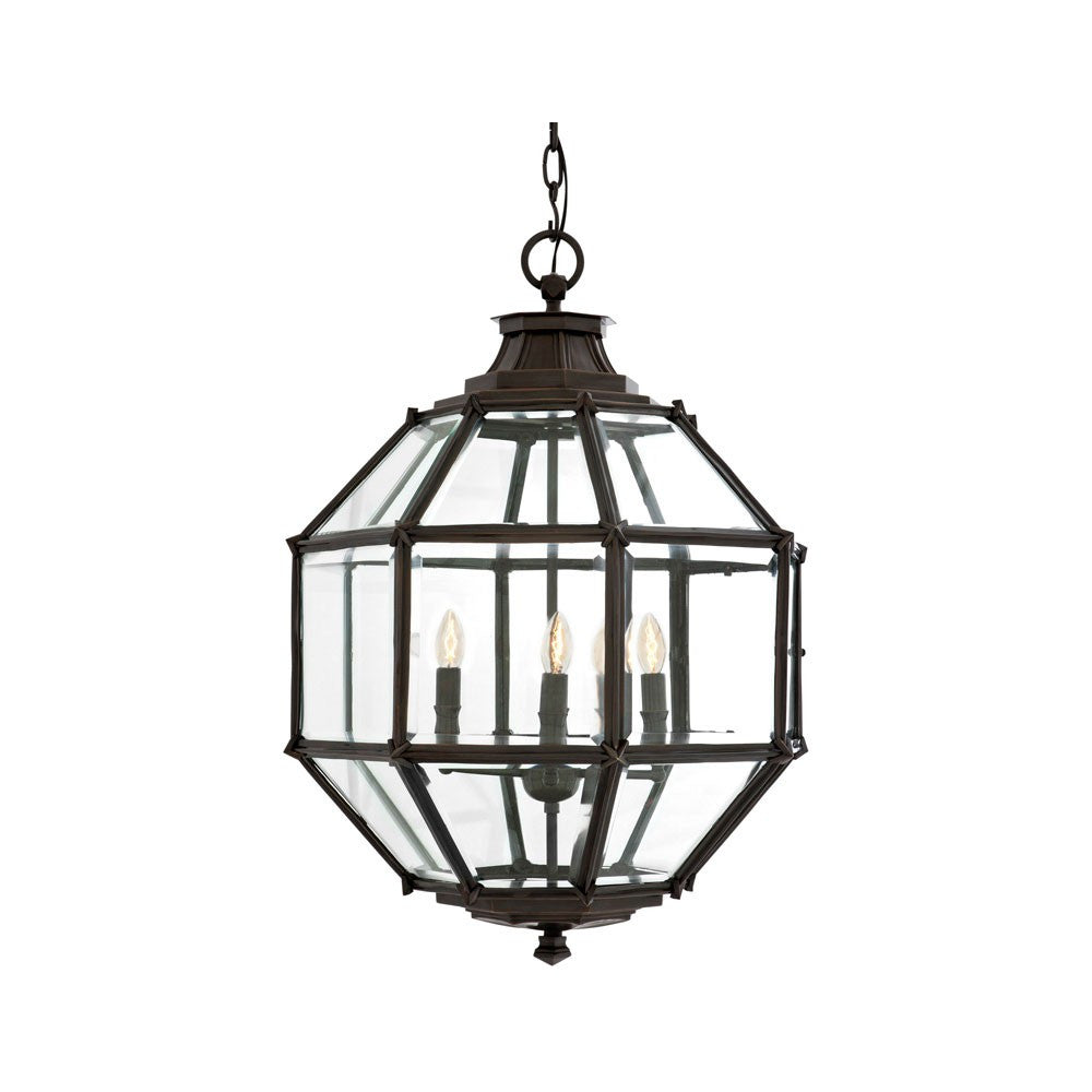 Owen Lantern | Medium | Bronze - Magins Lighting Lantern Lead Time: 5 - 6 Weeks Magins Lighting