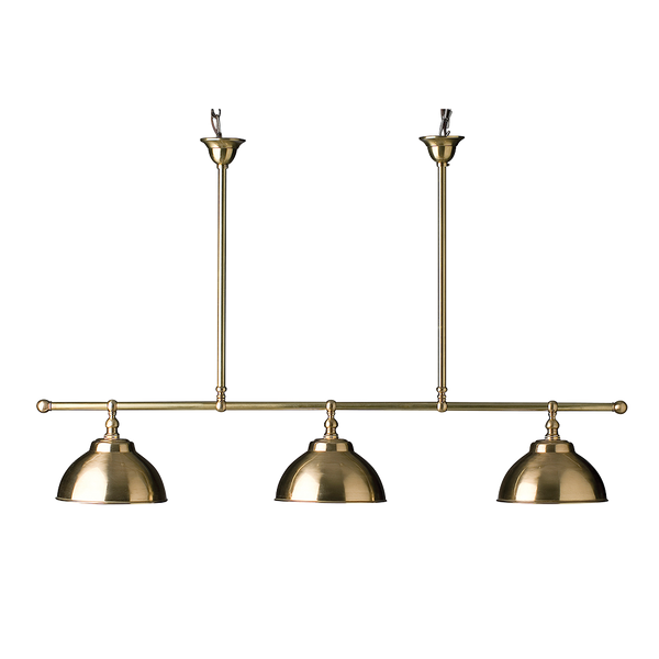 Gloucester 3 Light | Brushed Metal Shade - Magins Lighting Ceiling Lead Time: 8 - 10 Weeks Magins Lighting