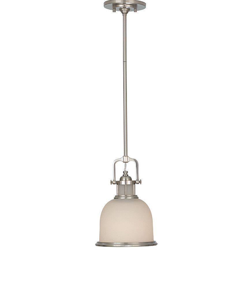 Parker Place Mini Pendant - Brushed Steel - Magins Lighting Pendant Lead Time: 5 - 6 Weeks Magins Lighting