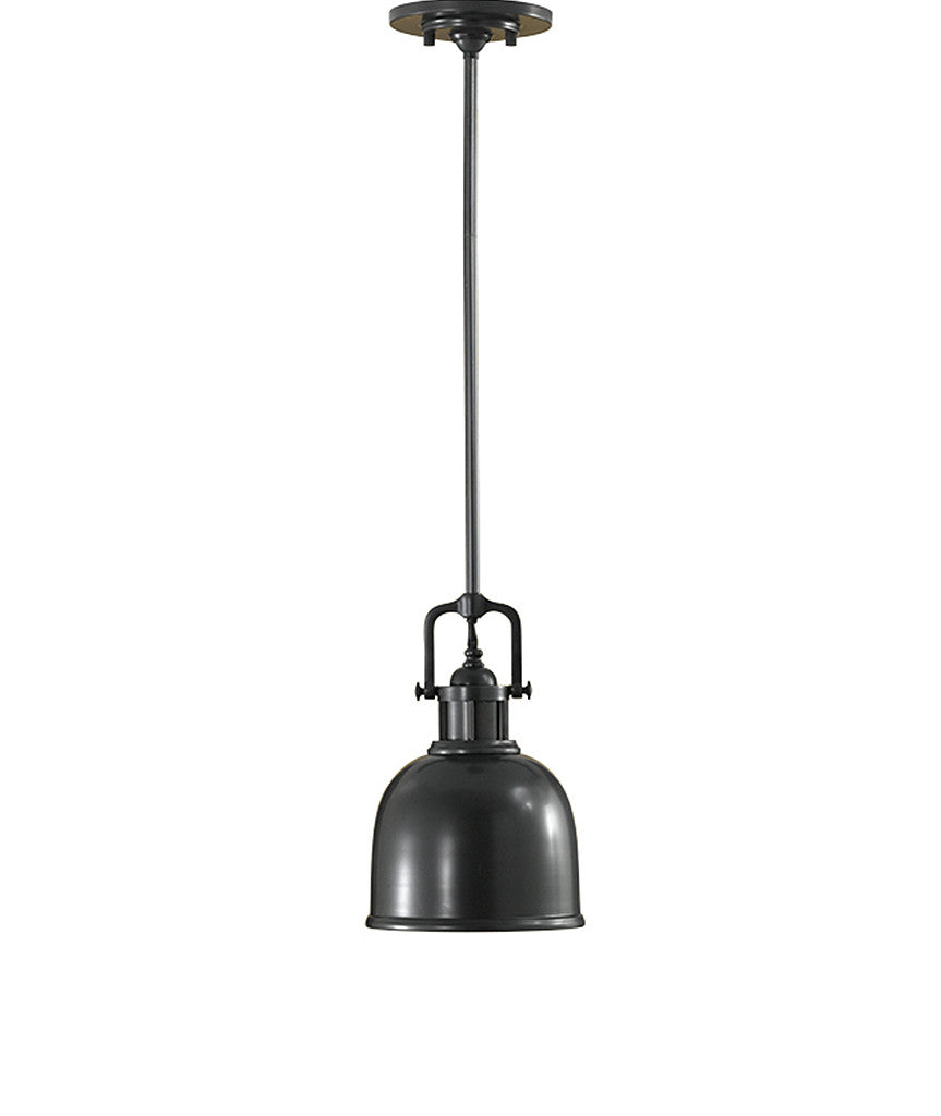 Parker Place Mini Pendant - Dark Bronze - Magins Lighting Pendant Feiss Magins Lighting
