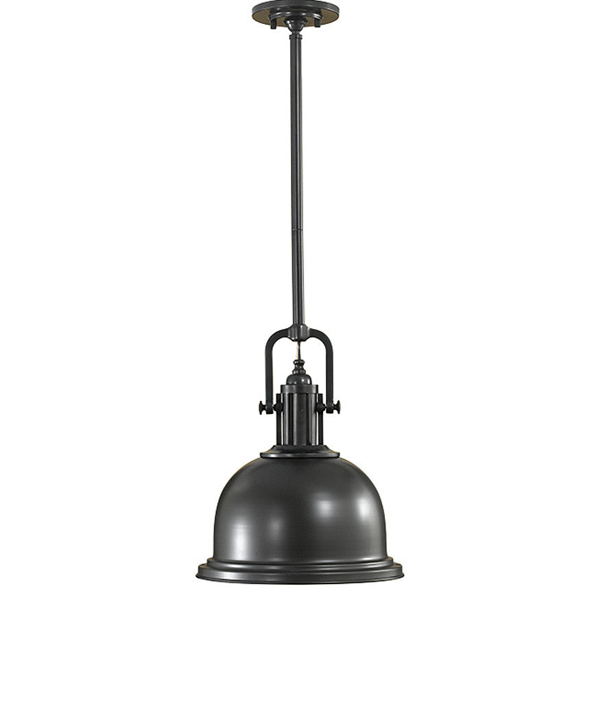 Parker Place Pendant - Dark Bronze - Magins Lighting Pendant Feiss Magins Lighting