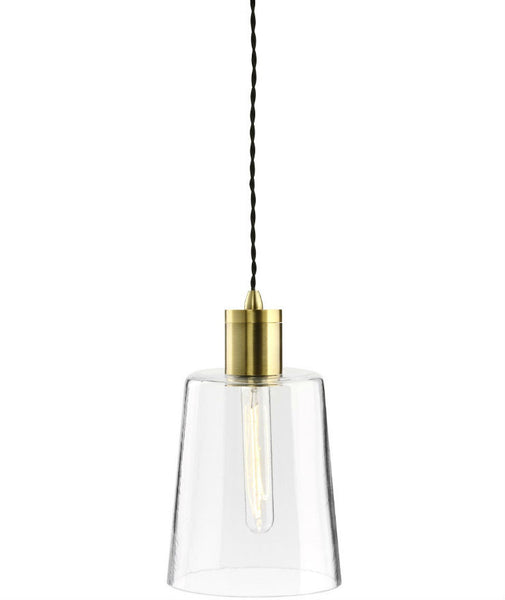 Parlour | Round - Round | Aged Brass - Magins Lighting Glass Pendant Lead Time: 1 - 2 Weeks Magins Lighting