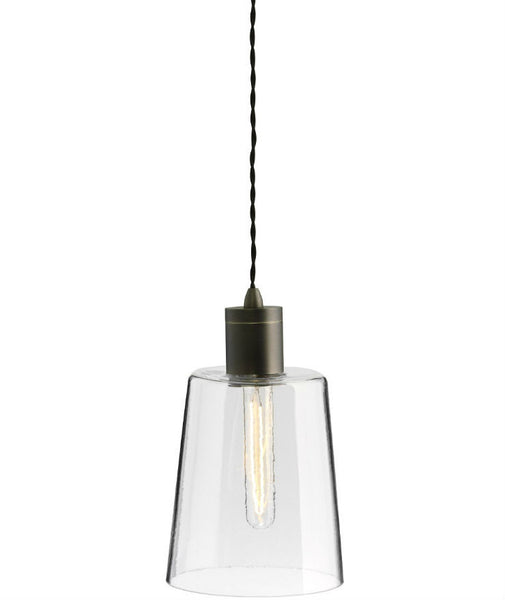 Parlour | Round - Round | Bronze - Magins Lighting Glass Pendant Lead Time: 1 - 2 Weeks Magins Lighting