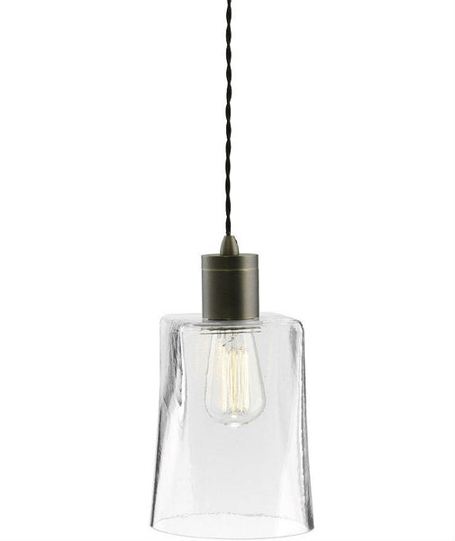 Parlour | Square - Round | Bronze - Magins Lighting Glass Pendant Lead Time: 1 - 2 Weeks Magins Lighting