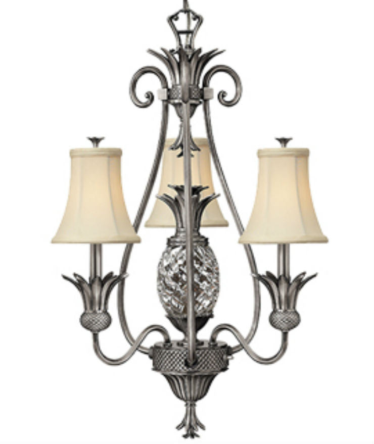 Plantation | 4 lt Chandelier - Magins Lighting Chandelier Elstead Lighting Magins Lighting