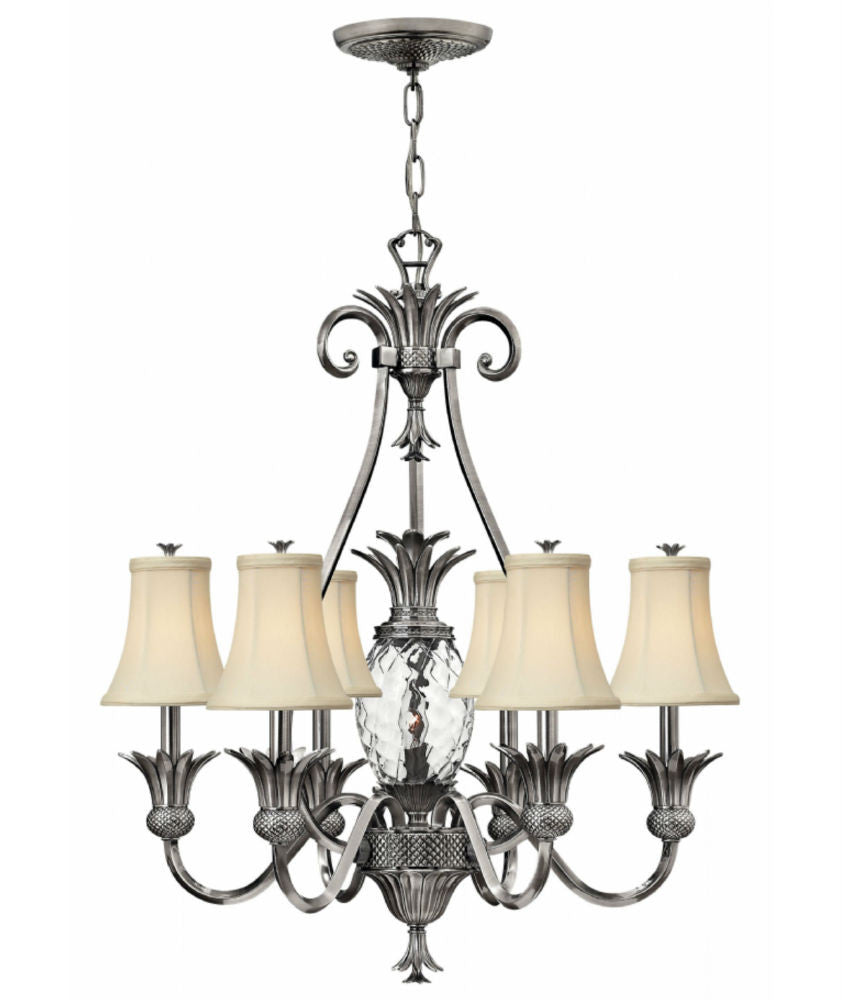 Plantation | 7 lt Chandelier - Magins Lighting Chandelier Elstead Lighting Magins Lighting