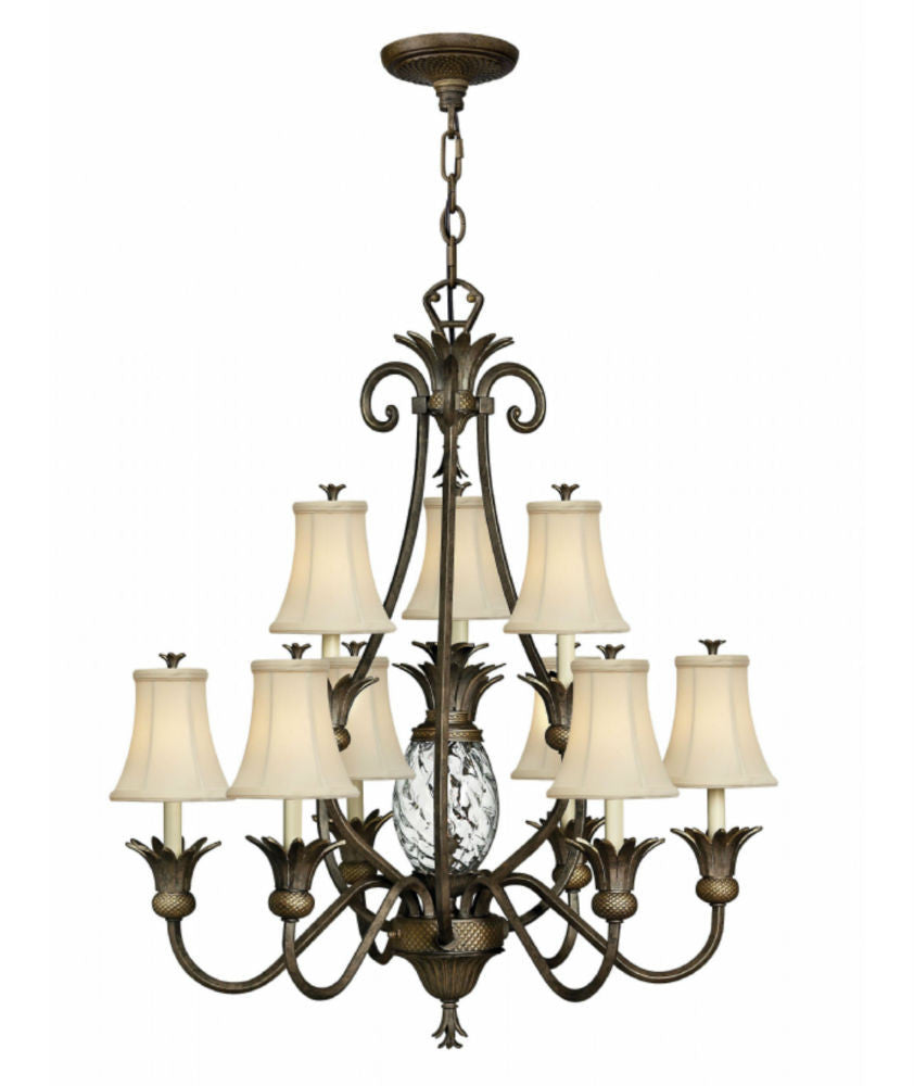 Plantation | 10 lt Chandelier - Magins Lighting Chandelier Lead Time: 5 - 6 Weeks Magins Lighting