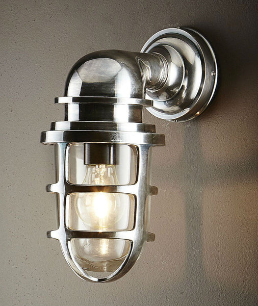 Porto - Antique Nickel - Magins Lighting Exterior Wall Lamps Usually dispatches within 2-3 days. Please contact us to confirm prior to placing your order. Magins Lighting