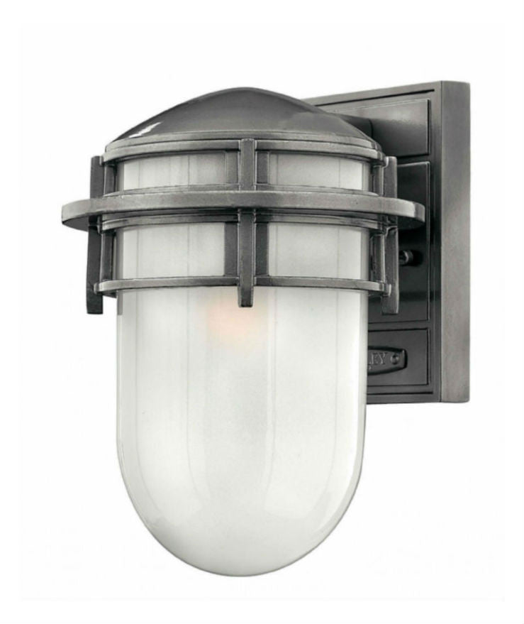 Reef Wall | Small | Hematite - Magins Lighting Exterior Wall Lamps Elstead Lighting Magins Lighting