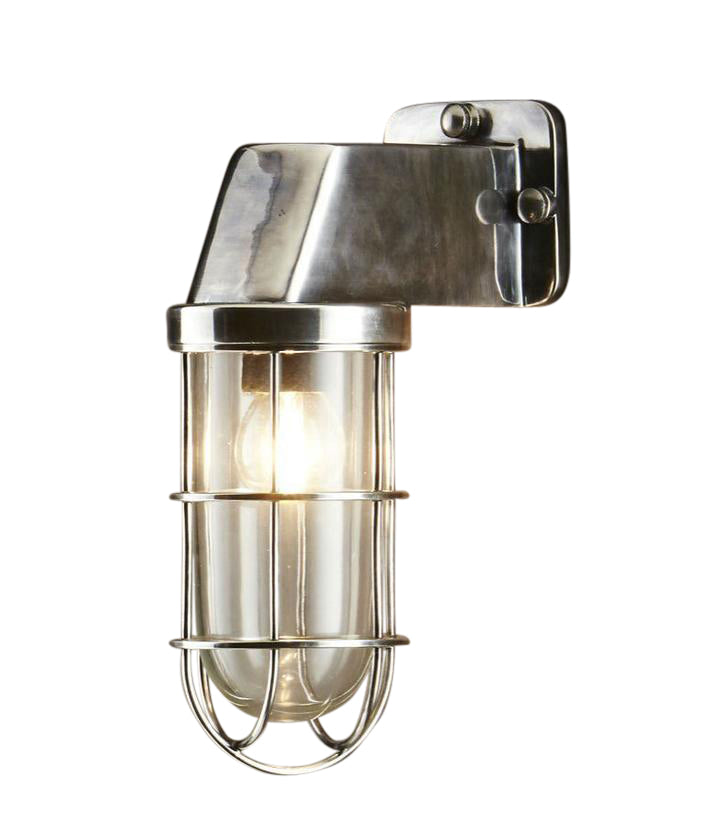 Royal London | Aged Nickel - Magins Lighting Exterior Wall Lamps Magins Lighting Magins Lighting