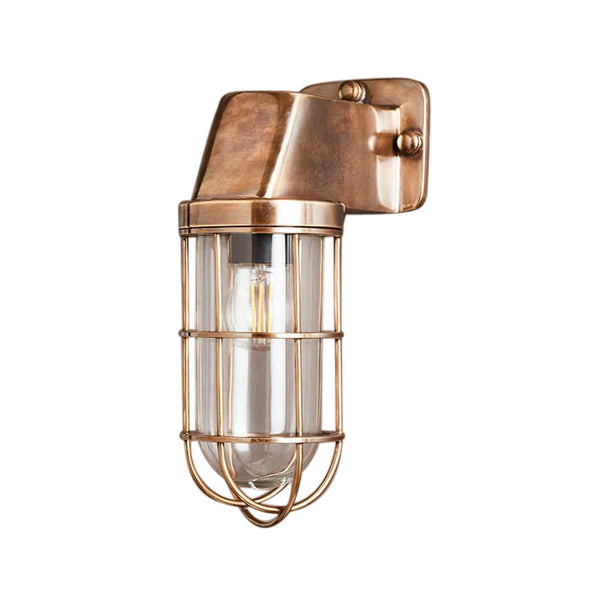 Royal London | Aged Brass - Magins Lighting Exterior Wall Lamps Magins Lighting Magins Lighting