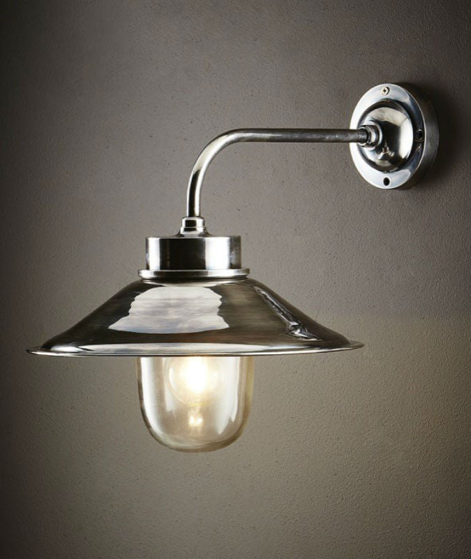 Sandhurst Wall Lamp | Antique Nickel - Magins Lighting Exterior Wall Lamps Emac & Lawton Magins Lighting