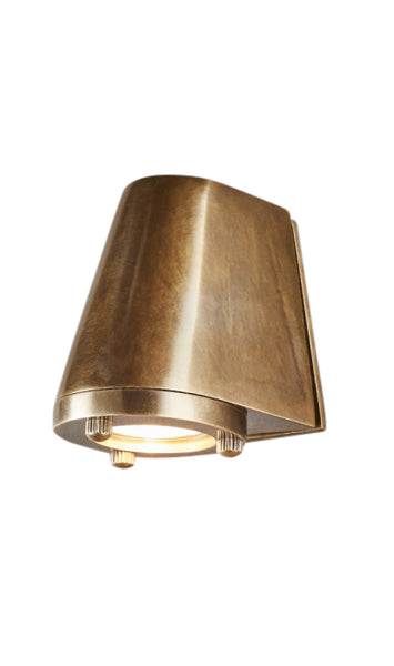 Seaman Wall Lamp | Aged Brass