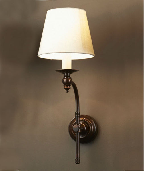 Stanford 2 Light Wall Lamp | Oxodised Brass – Magins Lighting