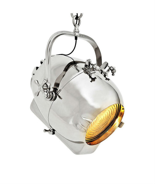 Spitfire Pendant | Polished Nickel - Magins Lighting Pendant Lead Time: 5 - 6 Weeks Magins Lighting