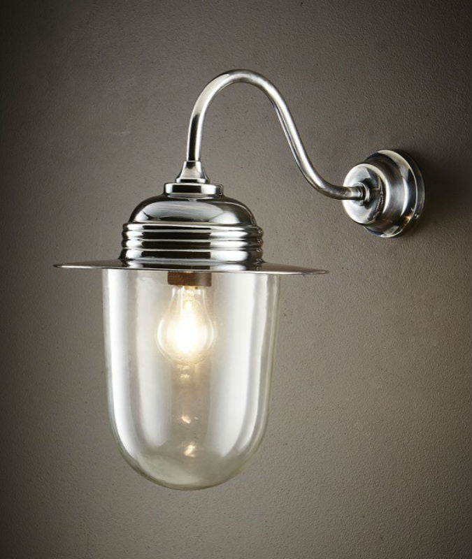 Stanmore Wall Lamp | Antique Nickel - Magins Lighting Exterior Wall Lamps Lead Time: 7 - 10 Days Magins Lighting
