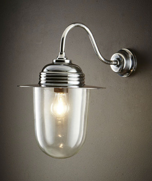 Stanmore Wall Lamp | Antique Nickel - Magins Lighting Exterior Wall Lamps Usually dispatches within 2-3 days. Please contact us to confirm prior to placing your order. Magins Lighting