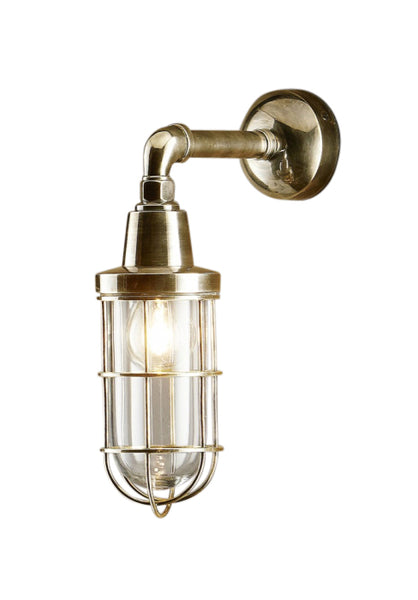 Starboard | Aged Brass - Magins Lighting Exterior Wall Lamps Magins Lighting Magins Lighting