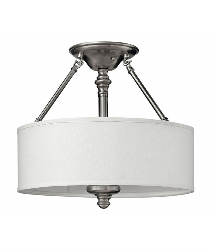 Sussex Semi Flush Mount - Magins Lighting Flush Mount Elstead Lighting Magins Lighting