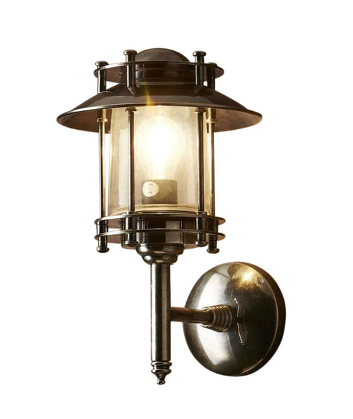 Turner Wall Lamp | Aged Nickel - Magins Lighting Exterior Wall Lamps Magins Lighting Magins Lighting